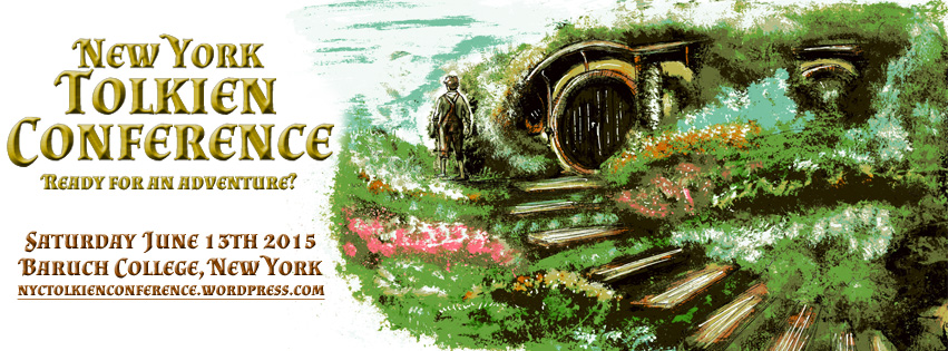 New York Tolkien Conference banner. Image by Luke Spooner