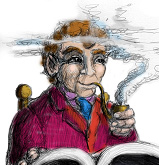 Bilbo & the book by Jef Murray