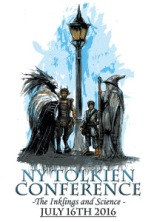 NY Tolkien Conference 2016 logo illustrated by Luke Spooner